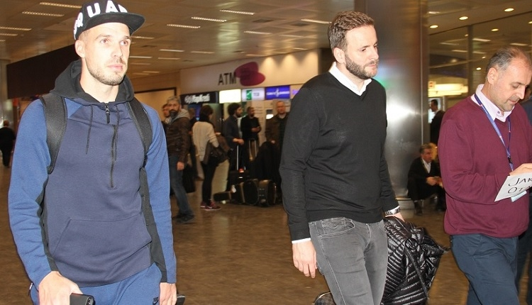 Trabzonspor'un yeni transferi Filip Novak İstanbul'da