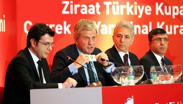 Türkiye Kupası çeyrek final ve yarı final kura çekimi ne zaman?