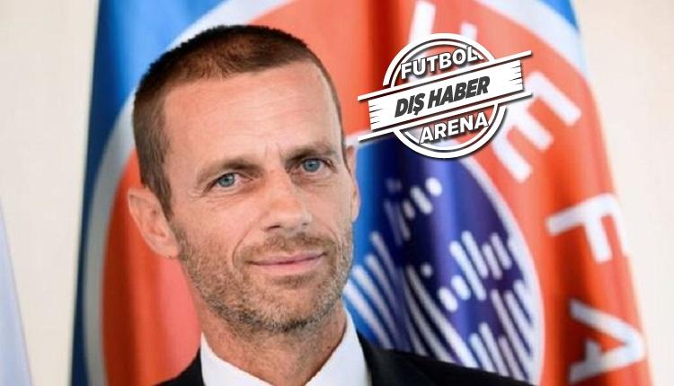 UEFA Başkanı Ceferin'den video hakem açıklaması