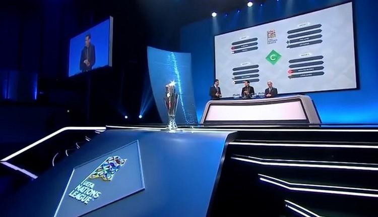 UEFA Uluslar Ligi grup kuraları çekildi