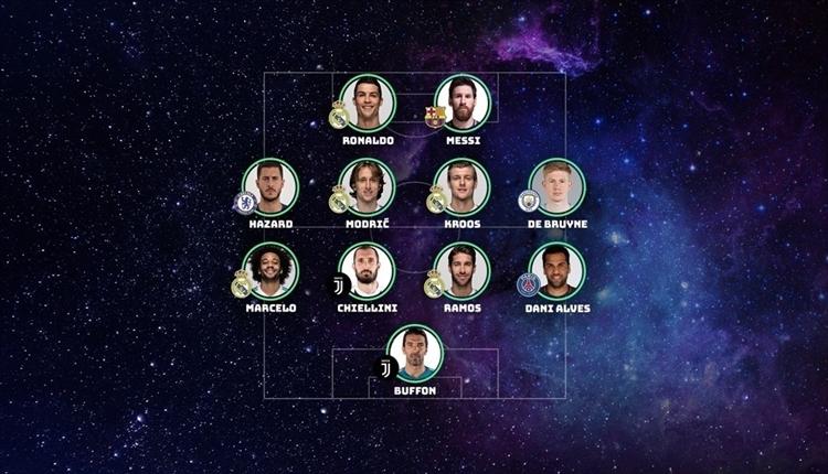 UEFA yılın takımı açıklandı! En çok oyu alan sürpriz yıldız