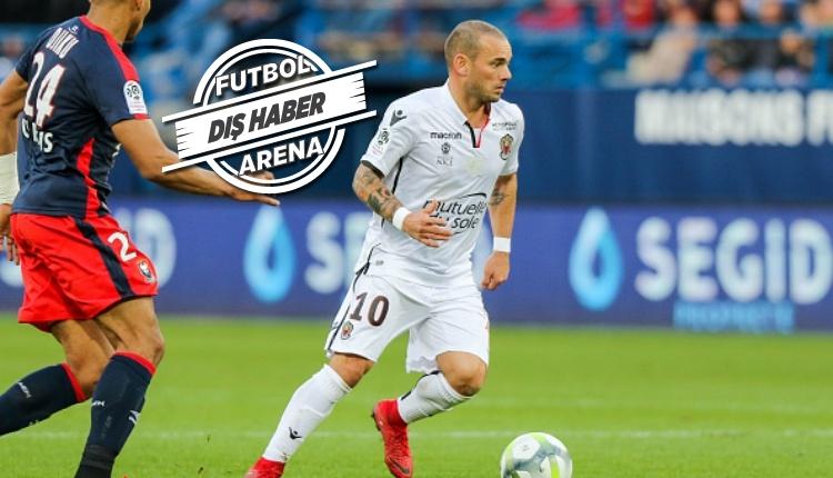 Wesley Sneijder, Katar'a transfer olacağını açıkladı