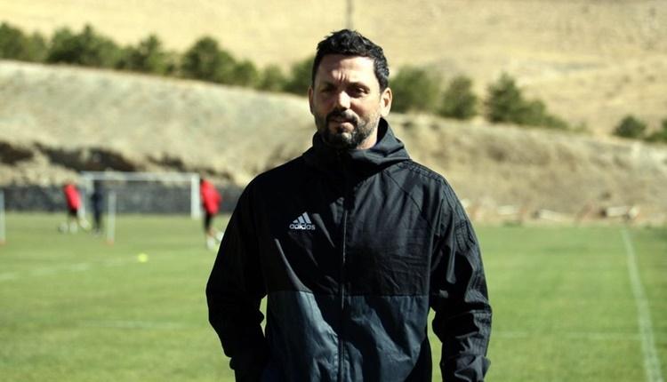 Yeni Malatyaspor'da Erol Bulut'tan transfer açıklamaları