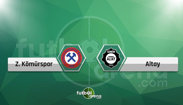 Zonguldak Kömürspor - Altay canlı skor, maçı saat kaçta, hangi kanalda?