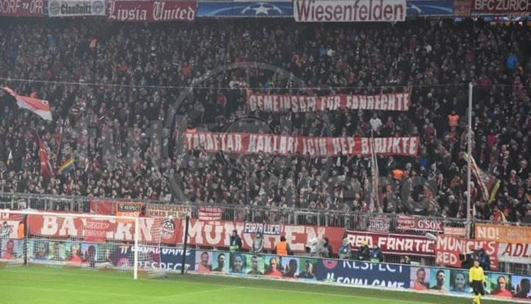 5 bin Beşiktaş taraftarı Allianz Arena'yı inletti