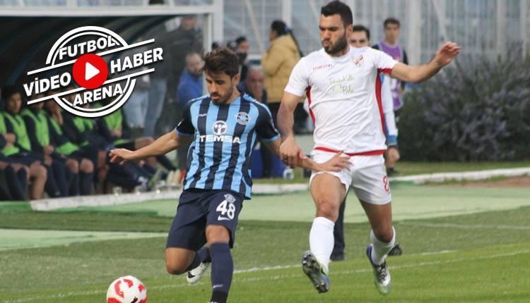 Adana Demirspor 1-3 Boluspor maçı özeti ve golleri (İZLE)