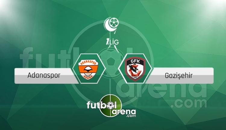 Adanaspor - Gazişehir maçı saat kaçta, hangi kanalda? (İddaa Canlı Skor)