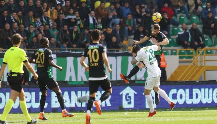 Akhisarspor 1 - 0 Bursaspor maç özeti ve golleri (İZLE)