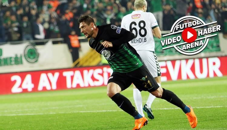 Akhisarspor 3-0 Konyaspor maçı özeti ve golleri (İZLE)