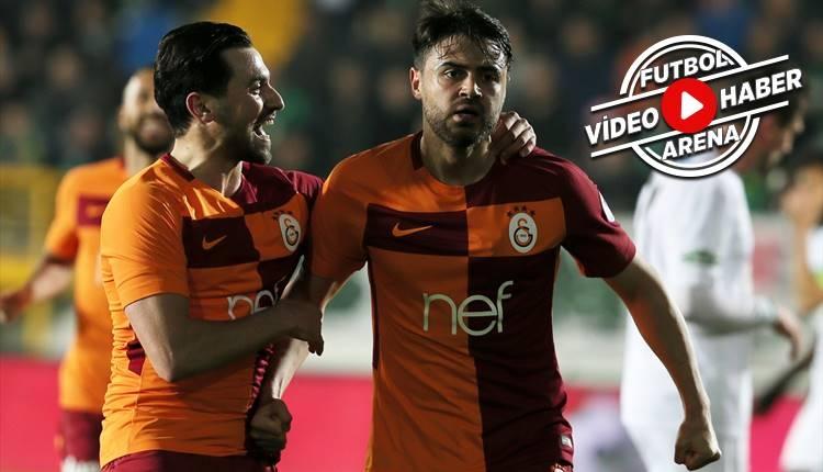 Akhisarspor - Galatasaray Ahmet Çalık'ın golü (İZLE)