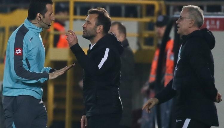 Akhisarspor'dan Galatasaray maçı sonrası hakem isyanı: 'Hep yapılıyor bu.'