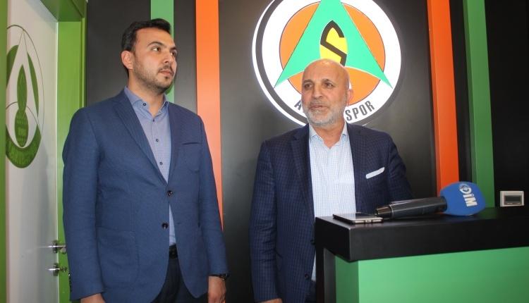 Alanyaspor'da Hasan Çavuşoğlu'ndan küme düşmeme garantisi