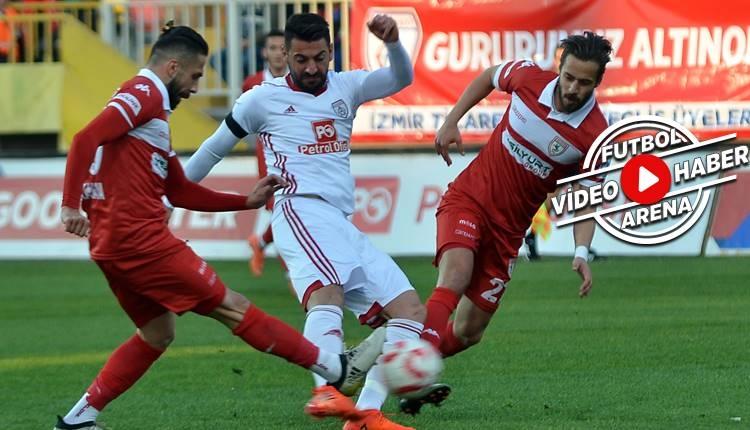 Altınordu 1-1 Samsunspor maçı özeti ve golleri (İZLE)