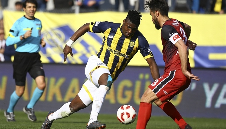 Ankaragücü 4-0 Gaziantepspor maç özeti ve golleri (İZLE)