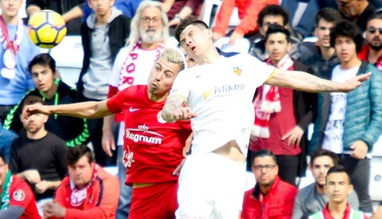Antalyaspor 2 - 1 Kayserispor maçın özeti ve golleri (İZLE)