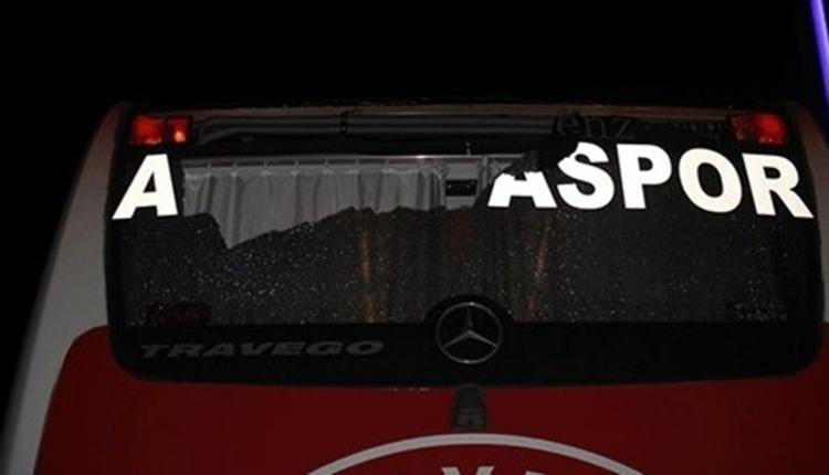 Antalyaspor otobüsüne taşlı saldırı olayında 3 gözaltı