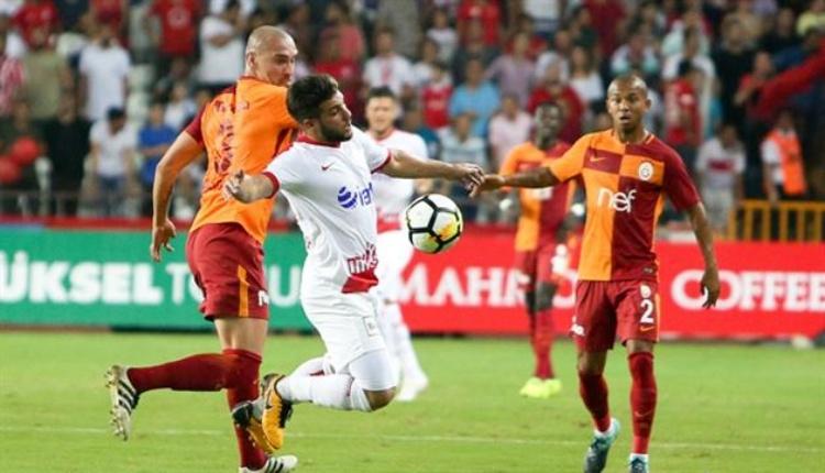 Antalyaspor'daGalatasaray maçı öncesi şok sakatlık