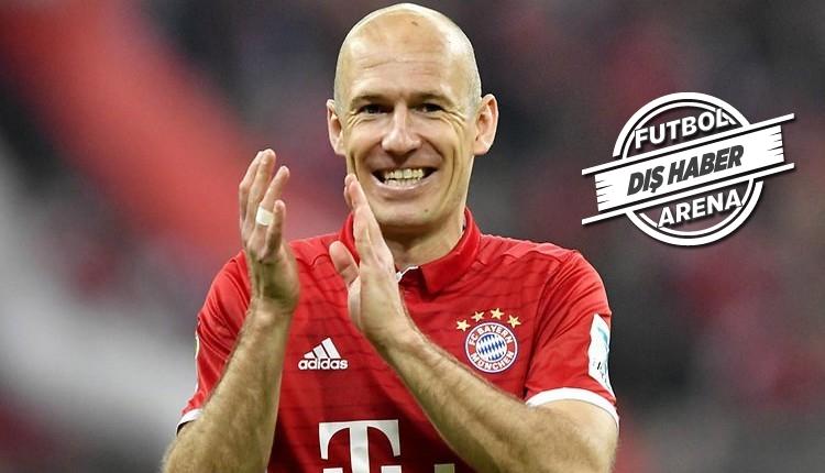 Arjen Robben'den Beşiktaş itirafı!