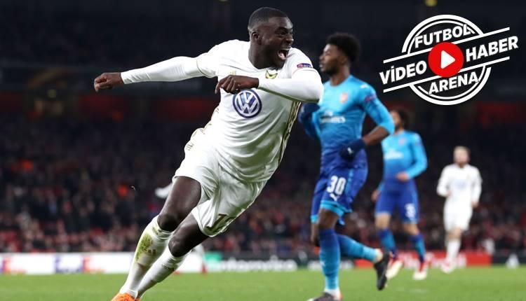 Arsenal 1-2 Östersunds maçı özeti ve golleri (İZLE)