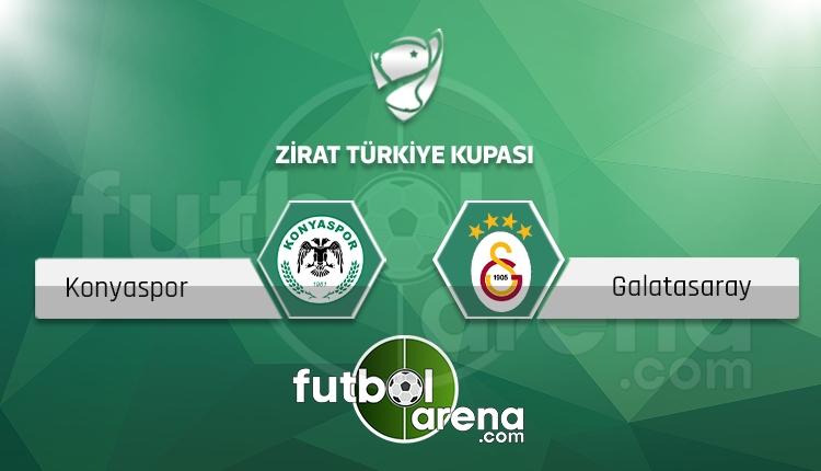 Atiker Konyaspor - Galatasaray maçı saat kaçta, hangi kanalda? (İddaa Canlı Skor)