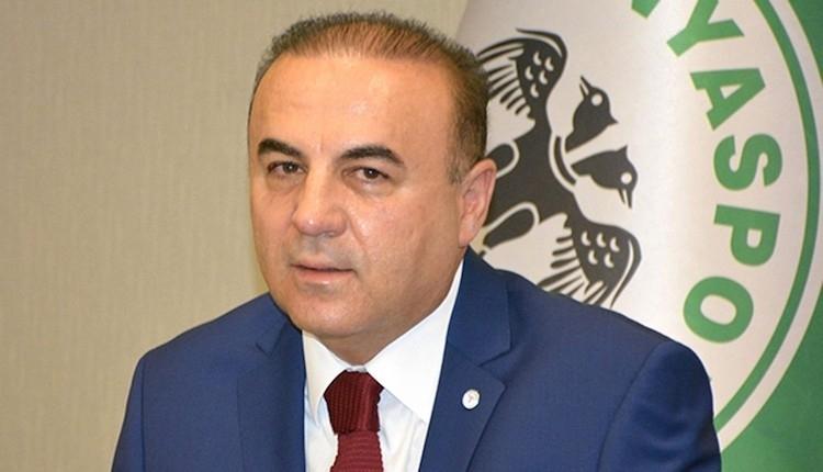 Atiker Konyaspor yöneticisi taraftardan özür diledi
