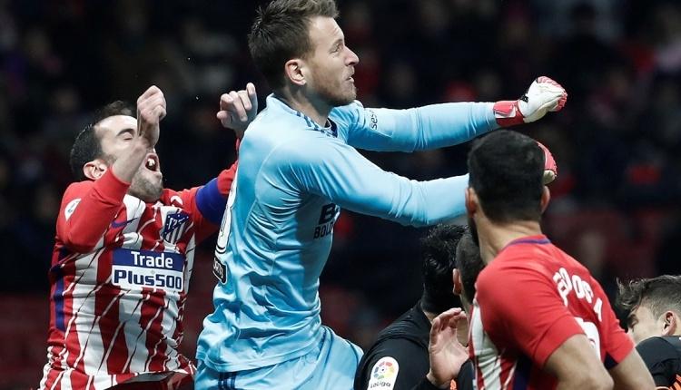 Atletico Madridli Diego Godin'indişi kırıldı