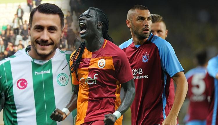 Bafetimbi Gomis, Burak Yılmaz'ı yakaladı! Süper Lig'de gol krallığı...