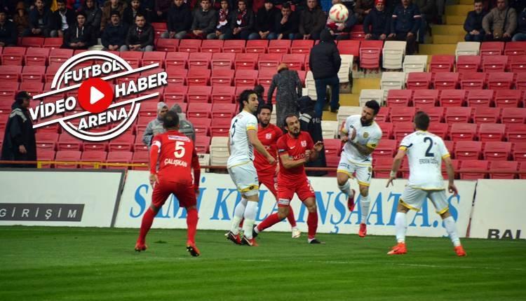 Balıkesirspor 1-3 Ankaragücü maçı özeti ve golleri (İZLE)