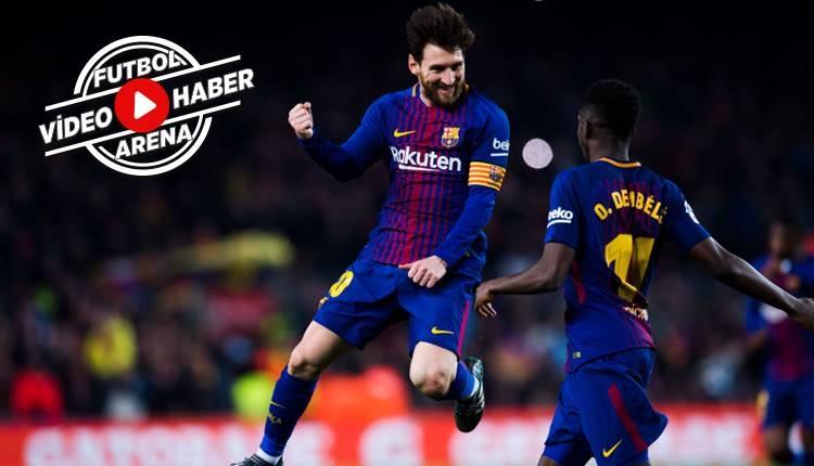 Barcelona 6-1 Girona maçı özeti ve golleri (İZLE)
