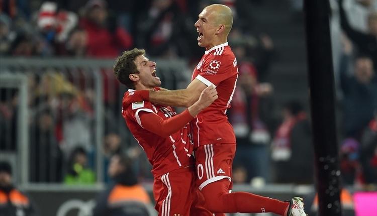 Bayern Münih 2-1 Schalke maç özeti ve golleri