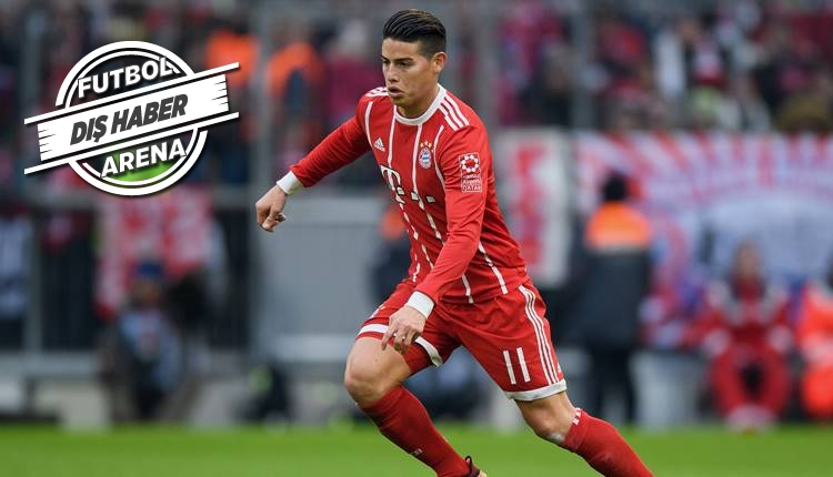 Bayern Münih, James Rodriguez'i transfer ediyor!
