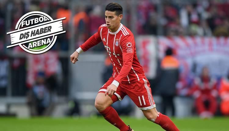 Bayern Münih, James Rodriguez'i transfer ediyor!