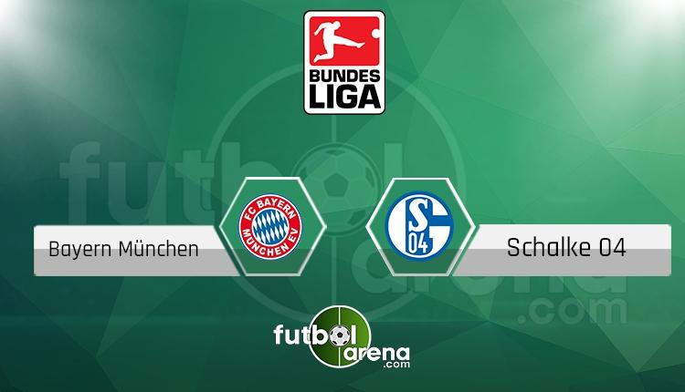 Bayern Münih - Schalke 04 maçı saat kaçta, hangi kanalda? (İddaa Canlı Skor)