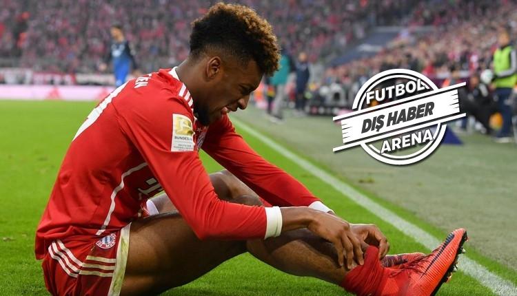 Bayern Münih'e Kingsley Coman şoku