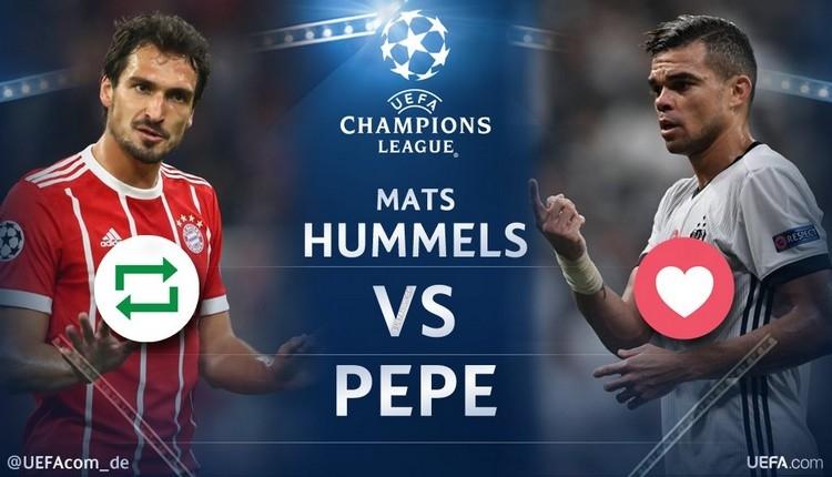Bayern Münih'li Mats Hummels, Pepe'ye meydan okudu