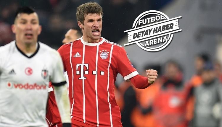 Bayern Münih'ten Beşiktaş karşısında Şampiyonlar Ligi rekoru