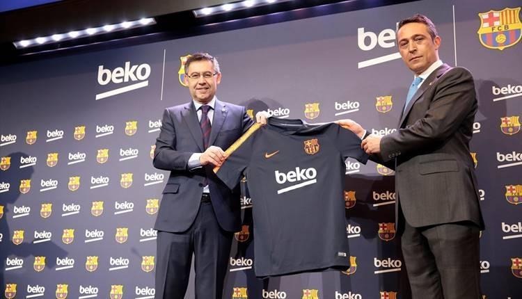 Beko, Barcelona sponsorluğunu genişletti! Ali Koç...