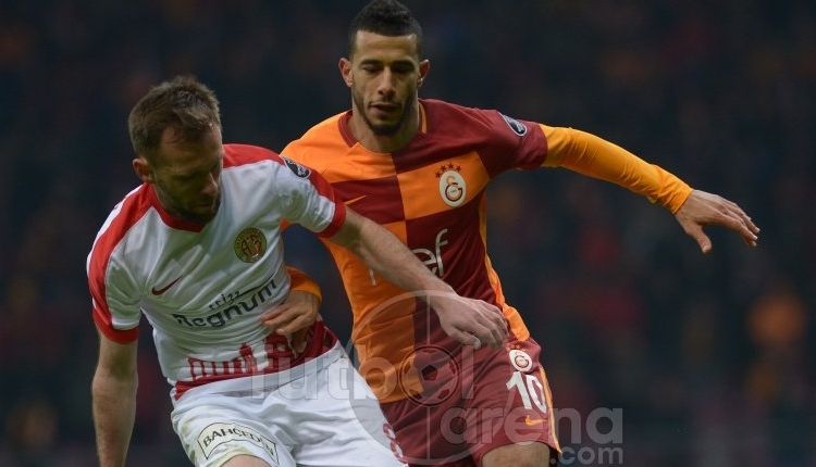 Belhanda, Galatasaray taraftarlarını çıldırttı! Kırmızı kart
