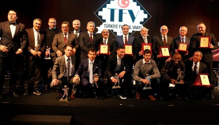 Beşiktaş, 2017 Türkiye Futbol Vakfı ödül törenine damga vurdu