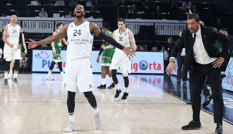 Beşiktaş, Banvit'i devirdi! Yarı final...