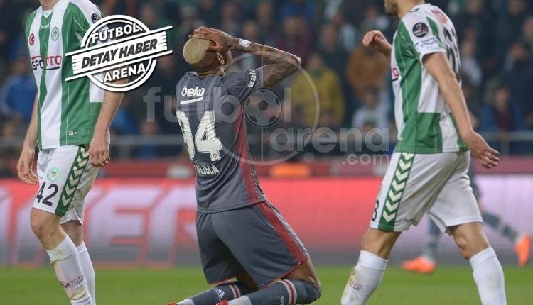 Beşiktaş, Cuma ve Konyaspor kabusundan uyanamadı
