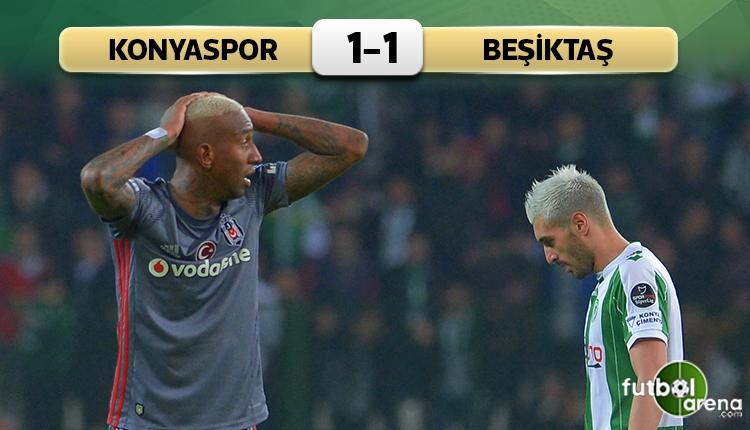 Beşiktaş deplasmanda Konyaspor'a takıldı