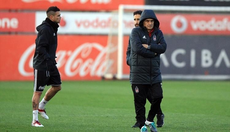 Beşiktaş eksiksiz çalıştı! Şenol Güneş, Pepe ile görüştü