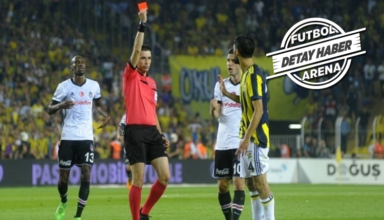 Beşiktaş - Fenerbahçe maçlarında 23 kırmızı kart!