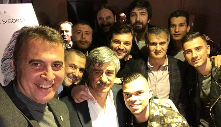 Beşiktaş, Süreyya Soner'in galasında buluştu