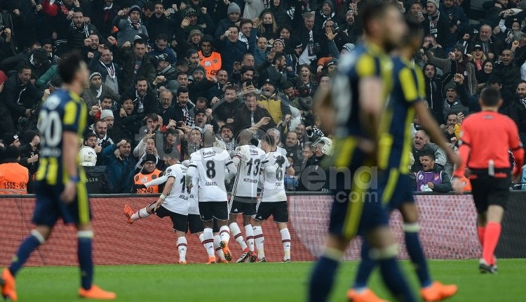 Beşiktaş, Vodafone Park'ta derbi kaybetmiyor!