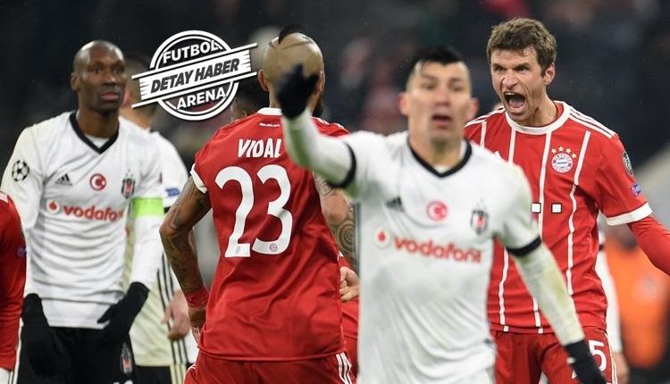 Beşiktaş'a yeniden Alman kabusu! Bayern farklı geçti
