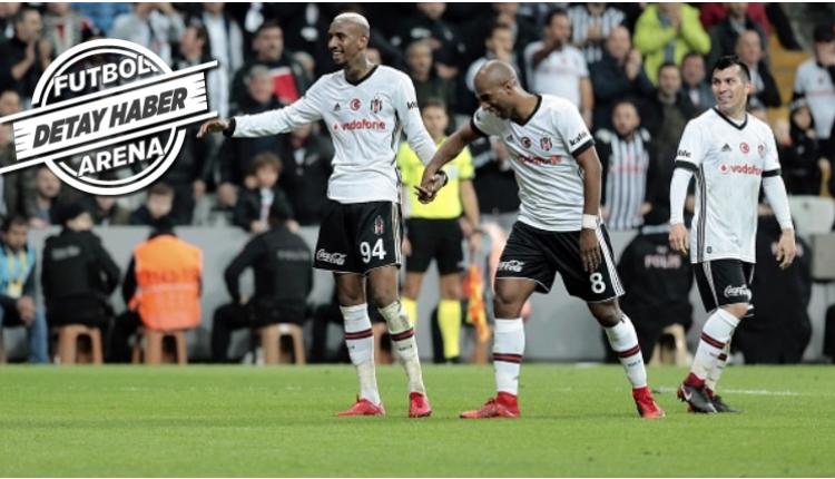 Beşiktaş'ı Talisca ve Ryan Babel taşıyor