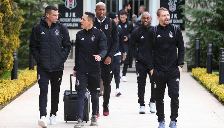 Beşiktaş'ın Bayern Münih maçı kadrosu