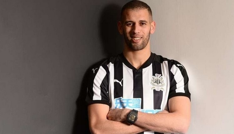 Beşiktaş'ın istediği Slimani, Newcastle United'da
